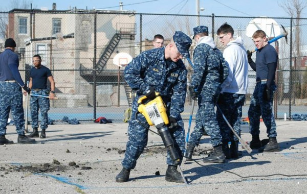 USNA Grabs A Shovel 3.1.14